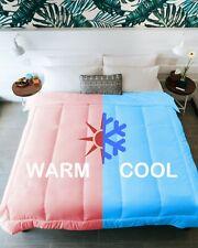 QUEEN KÖMFORTE Dual Zone Couples Comforter – Two Temperature Duvet Insert