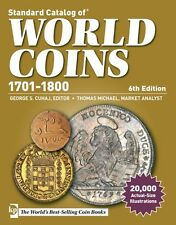 KRAUSE STANDARD CATALOG OF WORLD COINS 1701-1800 6TH EDITION
