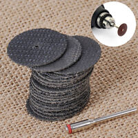 New 100Pcs 32mm Fiberglass Reinforced Cut Off Wheel For FIT Rotary Tool Y5P4