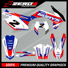 KTM EXC EXC-F 125 - 450 2012 - 2018 MOTOCROSS GRAPHICS MX GRAPHICS KIT ISDE 6 DA