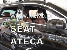 SEAT ATECA 5-portes 2016-présent Deflecteurs de vent 4-pcs HEKO Bulles