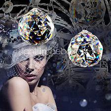 SL Modern Large Crystal Chandelier Lighting Downlight Pendant Lamp Ceiling Light