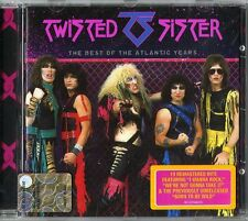 Twisted Sister The Best Of The Atlantic Years CD Remastered Nuovo Raccolta