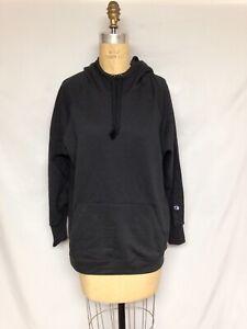 Champion Women's Fleece Pullover Hoodie QW140 001 Black 1X , 2X , 3X NWT $45