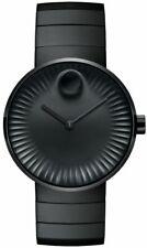 Movado 3680007 Men's Edge Black Concave Sandblasted Aluminum Quartz Watch