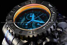 "Invicta Men's 70mm Full Sea Hunter ""Sun in Night"" Black Swiss Orange Dial Watch"