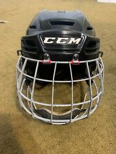 New listing Ccm Res300 Hockey Helmet Combo-Fm-S-Black-Used-Siz e: S - 6 3/8 -7