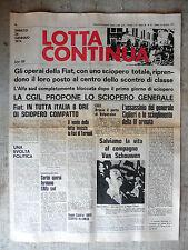 LOTTA CONTINUA n.21 sabato 26 gennaio 1974