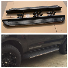 Fit Ford Ranger Wildtrak Aluminum Running Boards Side Steps 2012-2018 Dual Cab