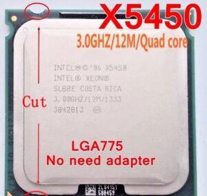 Intel Xeon X5450 LGA775 = (core 2 quad Q9650) (TDP120w) FSB1333 SLBBE no SLASB!