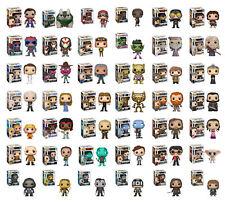 Funko Pop Vinyl Figures, Music, Tv, Movies, Heroes, Games & Comic Characters