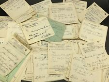 15 Vintage Pharmacy Medical Rx Paper Prescriptions Bundle Lot Ephemera Junk Art