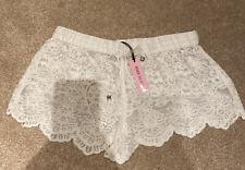 River Island Lace Shorts Summer Ibiza XS