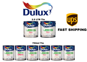 Dulux Quick Dry Gloss Colours Wood / Metal - 750ml and 2.5L - All Colours