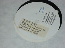 """Mystery Girls: I promise to rock you forever    7""""  WHITE LABEL TEST PRESSING"""