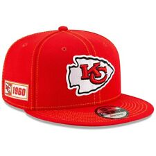 Kansas City Chiefs  New Era 2019 Sideline Road 9FIFTY Snapback Adjustable Hat