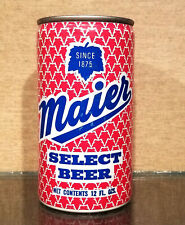 * Bottom Opened Aluminum Maier Pull Tab Beer Can General 2 City Sf Vancouver Wa