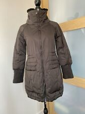 MAX&CO By MaxMara Brown Quilted Coat In Size 10
