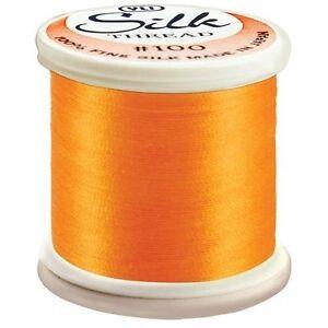 Kanagawa / YLI 100% and #100 Silk Thread [ 216 - Bright Orange ]