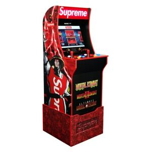 *In Hand Ships Today* Supreme x Mortal Kombat Arcade Machine by Arcade1UP