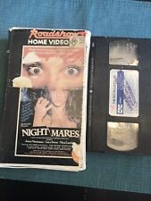 Nightmares Aka Stage Fright Rare VHS PAL Cult Horror