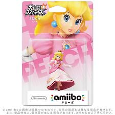 Nintendo Amiibo Mario Peach Figure Super Smash Brothers 3DS Wii U From Japan