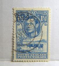 L200) Bechuanaland Prot. 1938/52. MM. SG 120 1 1/2d Dull blue.