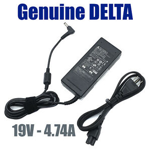 Genuine Delta ADP-90CD AC Adapter 90W For MSI PS63 Modern-018I Laptop W/P.Cord