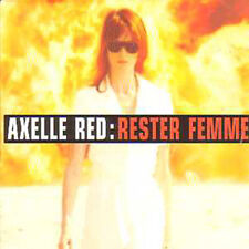 Axelle RED CD single Rester femme Rester femme inc Extreme mix & Spanish versioN