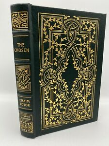 SIGNED Easton Press THE CHOSEN LIMITED Edition CHAIM POTOK WWII 2 #1736/3500