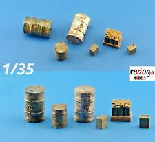 1:35 resin modelling/dioramas accessories kit -  oil and fuel set /3513