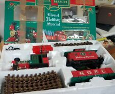 RARE VINTAGE LIONEL HOLIDAY EXPRESS LARGE SCALE TRAIN SET CHRISTMAS 8-81019 *NR*
