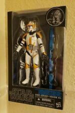 Brand New in Box Hasbro Star Wars Black Series 2 Blue Line Commander Cody! VHTF!