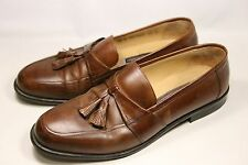 Men's Johnston & Murphy Brown Leather Loafers 10M