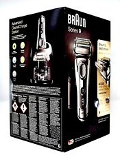 BRAUN 9296CC Series 9 TITANIUM Wet/Dry Mens Cordless Electric Shaver 9-9296 NEW