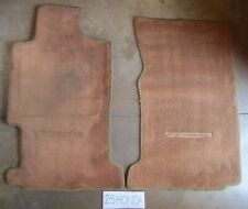 1992-1994 Acura Vigor Gs Optional Floor Mats Cognac Rare Inspire OEM CC2 CC3