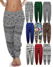 Womens Ladies Baggy Harem Trousers Pants Loose Fit Yoga Ali Baba Hareem Leggings