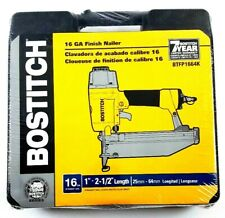 "Bostitch 16 Gauge Finish Nailer Gun 1""-2.5"" BTFP1664K BRAND NEW SEALED"