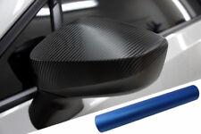 PREMIUM ESPEJO Carcasas Tapa Diseño lámina Azul Mate Para Muchos vehículos