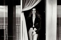 1975 Vintage Semi Nude VEROUSHKA Fashion Model By HELMUT NEWTON Photo Art 11X14