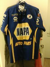 official napa auto parts racing team pit crew shirt and brand new racing t shirt