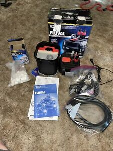 Fluval 107 10-30ga. Performance Canister Filter A440 Used