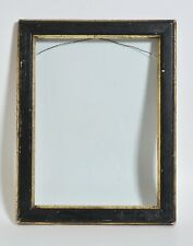 Antique 1800s Black & Gild Eastlake picture frame, with wavy glass !