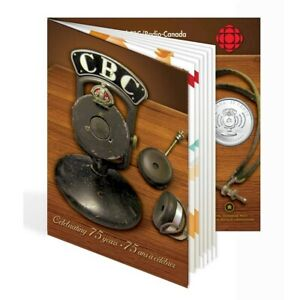 75th Anniversary of CBC/Radio Canada - 2011 Canada 25 cent coin