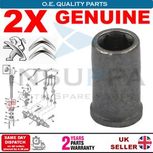2X Injector Nuts For Citroen Peugeot Ford Mini Volvo Suzuki Fiat 198263 Genuine