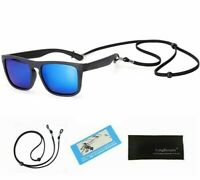 Polarized Sunglasses  Flexible Safety Frame Shades For Boys Girls UV400 Fashions