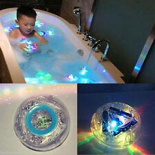 GUT Kinder Badewanne Spielzeug LED Licht Ball Baby Lampe Badespielzeug Badespaß