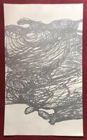 Monika Grzymala, Next 1, Lithographie/Linoldruck, 2007, handsigniert und datiert