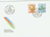 Schweiz FDC Ersttagsbrief 1983 Große Werke Mi.Nr.1249+50