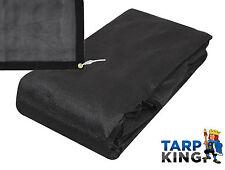 1.8m x 3.2m Strong Mesh Tarp Black Ground Tipper Truck Skip Bin Cover